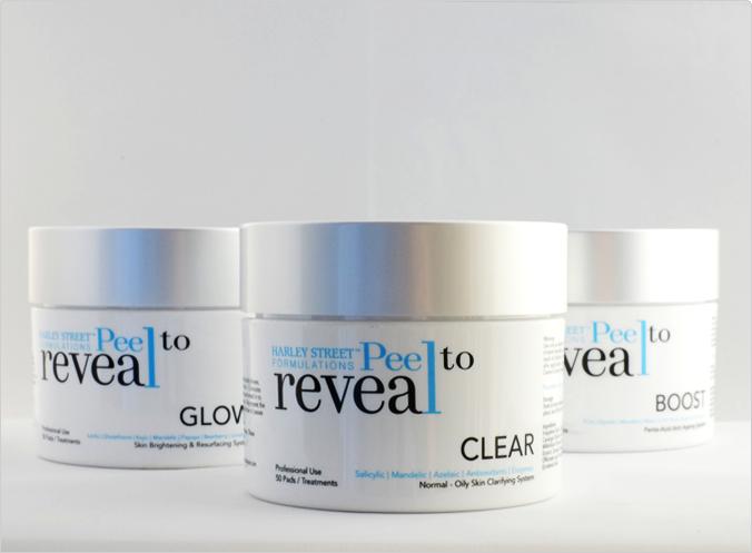 complete skin care rejuvenation treatment with Harley Street Formulations