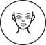 Surgical Cheek and Chin Implant Icon