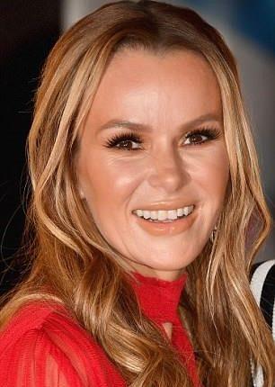 Amanda Holden's Botox face