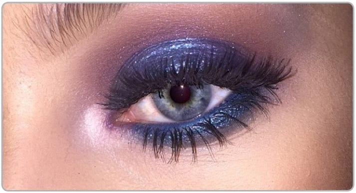 baby blue eyeshadow